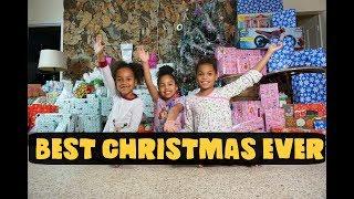 CHRISTMAS MORNING SPECIAL OPENING PRESENTS- 2017