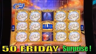 ★Surprise !☆50 FRIDAY 39☆Fun Real Slot Live Play★The Voice/007 Thunderball/Agent Magnifying Jackpot★