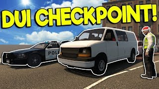 SPEED ZONE UPDATE & DUI CHECKPOINT! - Flashing Lights Gameplay - Police Simulator 2018