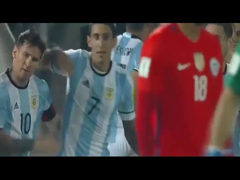 Chile vs Argentina 1-2 ( all goals ) ( World Cup 2018 Qualifying ) HD