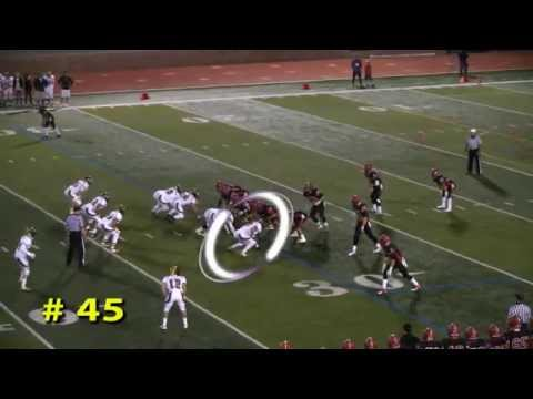 Ryan Murphy Football Highlights Nov. 2014