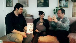 Alina Simone, Eugene Mirman & Stephen Elliott brainstorm