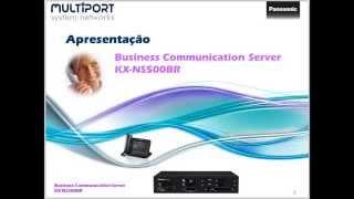 Apresentaço PABX IP Panasonic KX-NS500