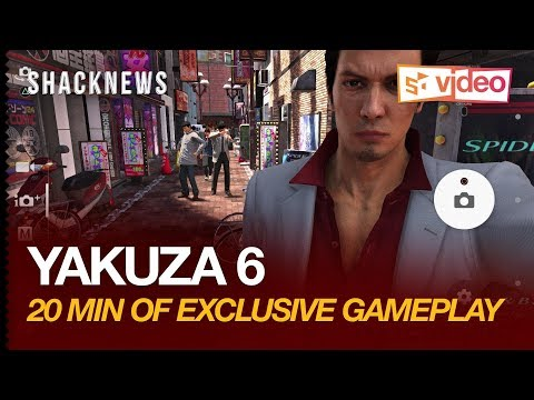 Yakuza 6 - 20 Minutes of Exclusive Gameplay