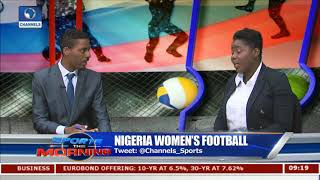 Nigeria Women's Football In Focus As Pinnick Apologises To Falcons Pt.1 |Sports This Morning|