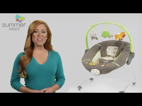 Summer Infant Sweet Comfort Musical Bouncer Product Video