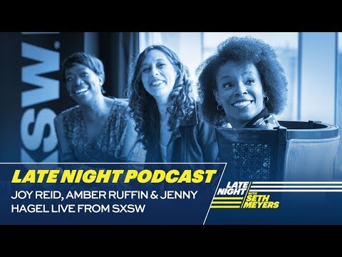 Amber Ruffin and Jenny Hagel Talk Diversity in Late Night with Joy ...
