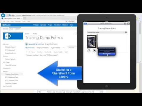 Alternative To InfoPath Filler: Using Formotus To Submit And Open Forms In A SharePoint Form Library
