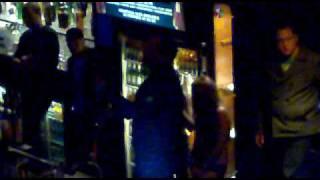 Newcastle United Ranger in Sam Jacks cafe Newcastle