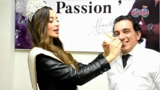 أخبار اليوم |دكتور احمد سليمان يمنح ملكة جمال العرب سهير الغضاب هليود سميل