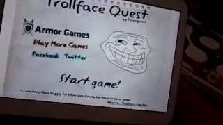 Mi primer gameplay! troll face quest