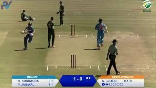 South Africa U19 vs India U19 | 3rd ODI
