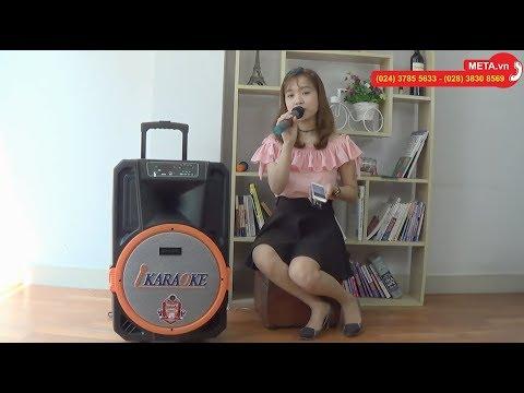 Test loa kéo di động Shupo BT2017 hát karaoke cực chất - META.vn