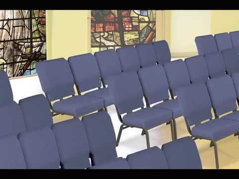 KFI 1030 Series Church Chair