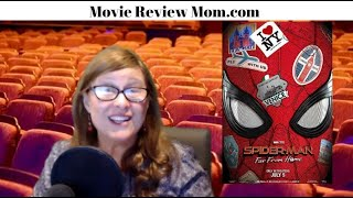 Spider-Man Far From Home movie review by Movie Review Mom