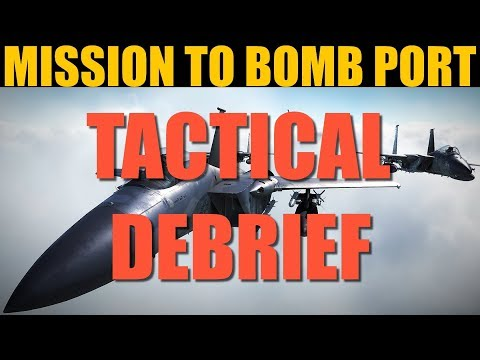 TOUGH Strike Mission To Bomb Port | Tactical Debrief | DCS WORLD