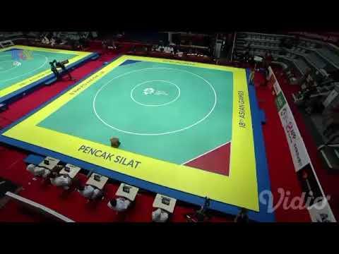 Pencak Silat Asian Games 2018 - Seni Tunggal Putri Indonesia PUSPA ARUMSARI (PSHT)
