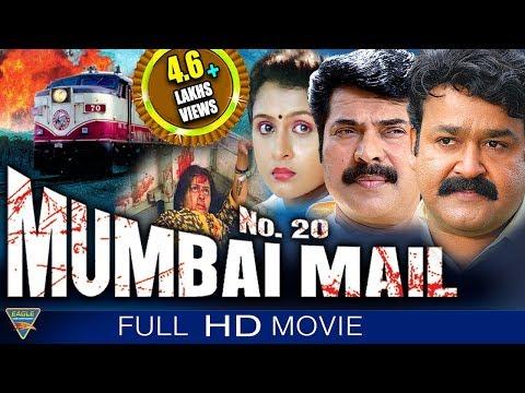 No 20 Mumbai Mail Hindi Dubbed Full Length Movie || Mammotty, Mohanlal || Eagle Hindi Movies