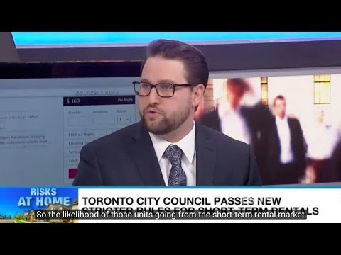 CCC's David Clement on BNN: Toronto's Airbnb restrictions won't work