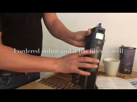 UV sterilizer With Filter (sunsun) Review