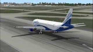 Indigo Airlines Takeoff -Midway