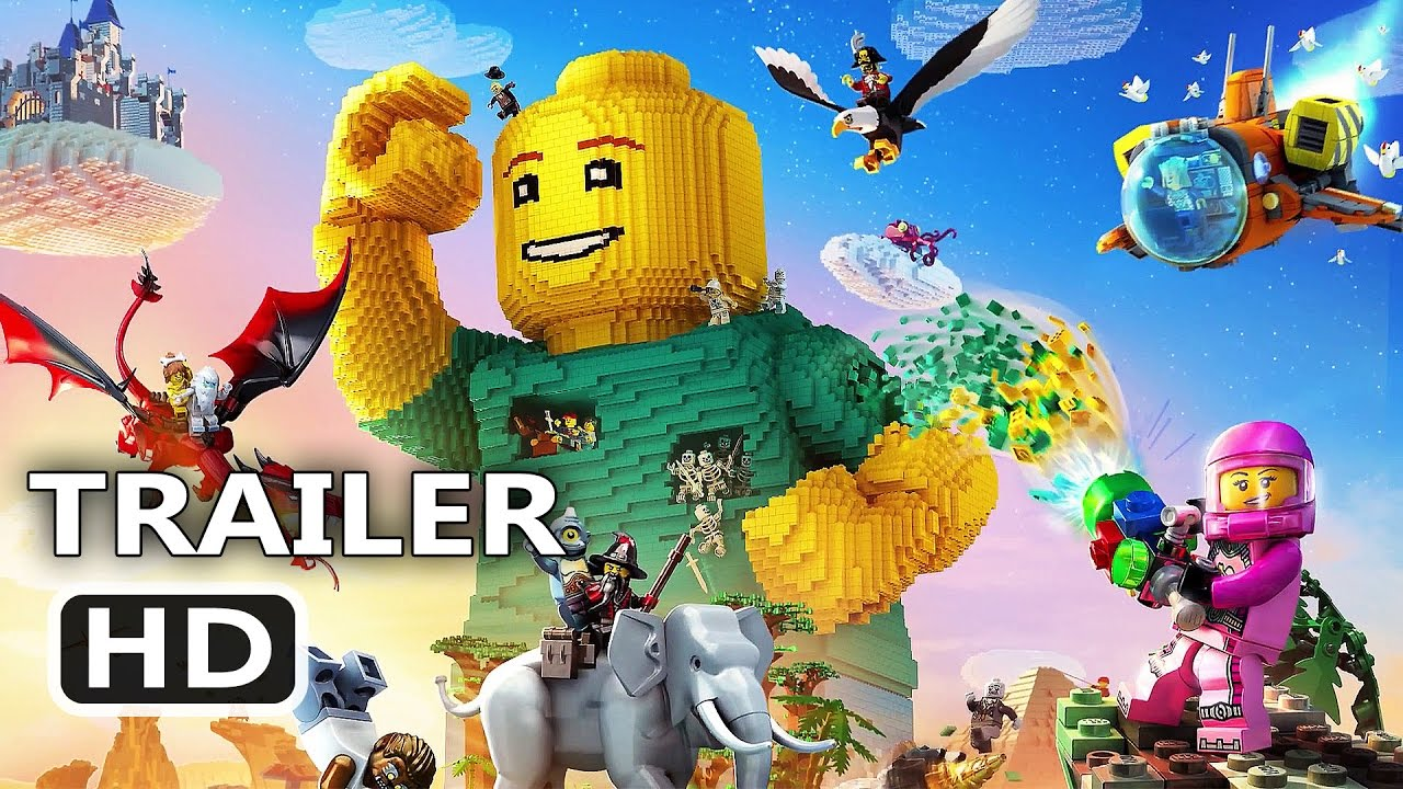 Ps4 Lego Worlds Official Trailer 2017 Video Game Hd
