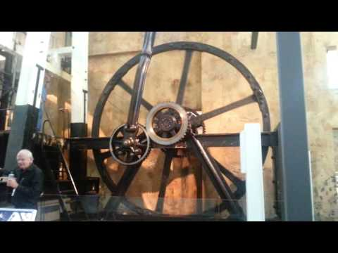 Boulton and Watt Steam Engine at Powerhouse Museum Sydney