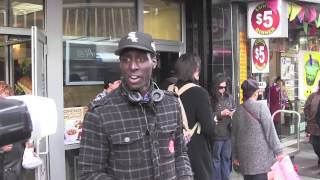 NYC Fast Food Workers Rally Outside 34th Street Wendy's