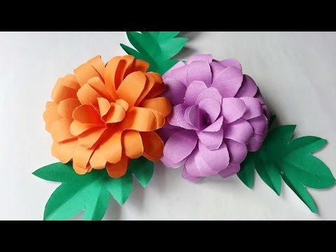 How To Create Pretty Paper Flowers - DIY Crafts Tutorial - Guidecentral