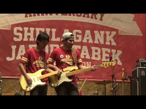 Sheila On 7 - Kamus Hidupku ( LIVE ) at 9th Anniversary SG JABODETABEK