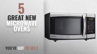 Top 10 Danby Microwave Ovens [2018]: Danby Designer 0.7 cu.ft. Countertop Microwave, Black/Stainless