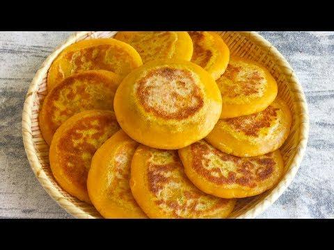 南瓜饼可以这样做,小孩老人都喜欢,没有技巧一次成功,先收藏了