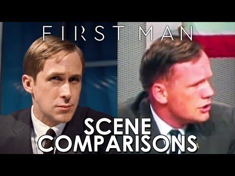 First Man (2018) - scene comparisons