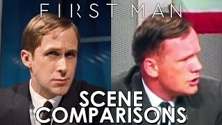 First Man (2018) - scene comparisons