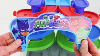孩子们,让我们学习颜色,而Pj面具比赛!