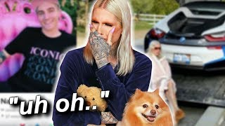JEFFREE STAR'S EX IS ON TINDER + NATE GETS CAR TAKEN OFF HIM!