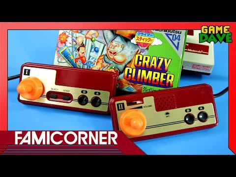 Crazy Climber (Famicom) - FamiCorner Ep 13 | Game Dave
