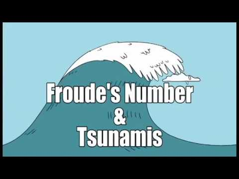 ME3340: Froude's Number & Tsunamis