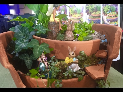 How To Build A Fairy Garden - Outdoor DIY