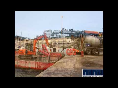 Marine and Civil Enginerring - Concrete Repairs to Sea Wall
