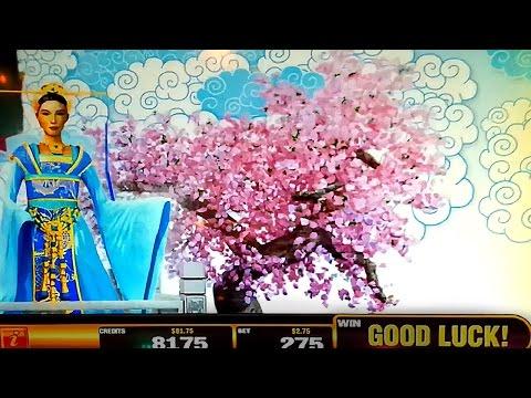 Blazing Jackpots - Heavenly Empress Slot - Live Play Bonus! - 동영상
