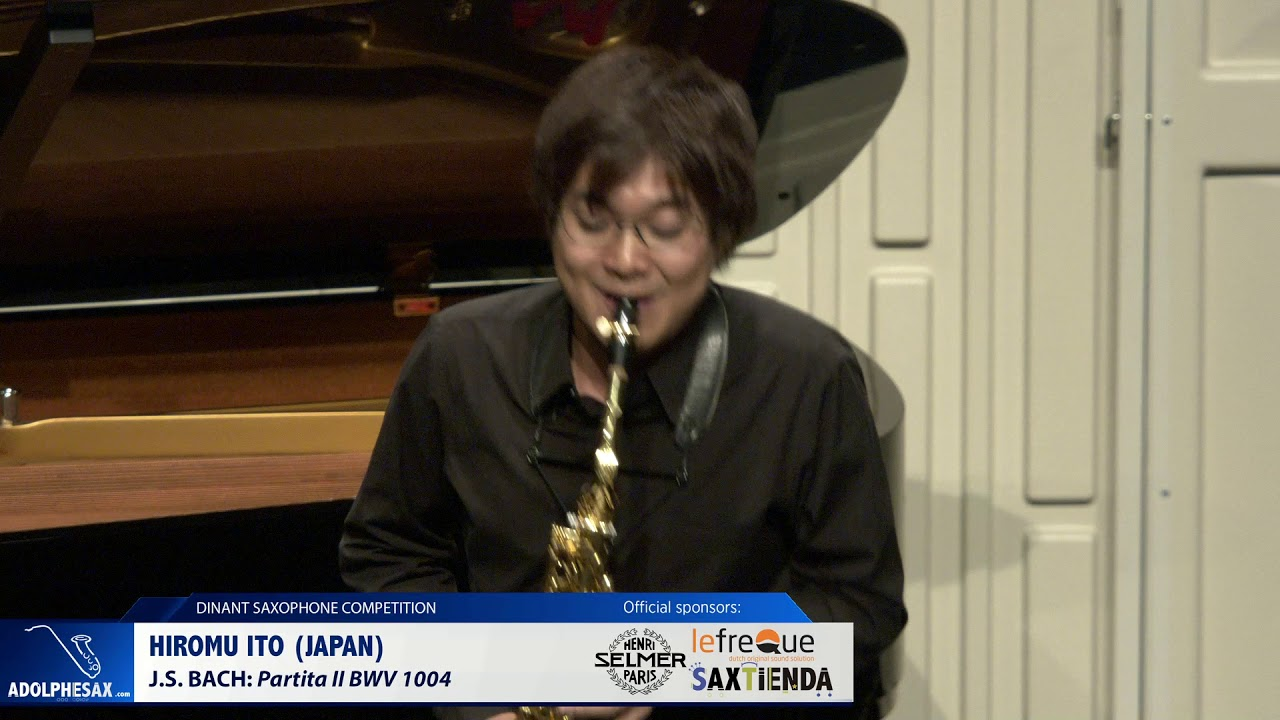 Hiromu Ito (Japan) - Partita II by J.S.Bach (Dinant 2019)