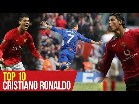 Top 10 of Cristiano Ronaldo's goals |  Porto, Arsenal, Portsmouth and more |  United manchester