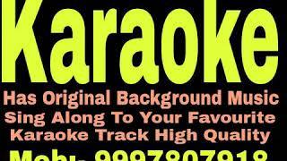 Chand Roz Aur Meri Jaan Karaoke - Sitamgar { 1985 } Kishore Kumar Track