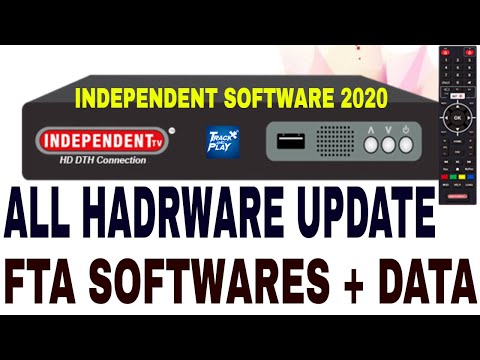 Independent TV latest FTA Software,DD Free Dish Software 2020,Independent Box All hardware Updates