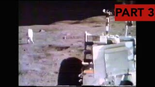 Apollo 16 - Lunar TV Transmissions Part 3 (Losing The Heat Flow Experiment)