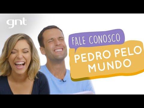 Pedro Andrade pelo mundo e também pelo Fale! | #63 | Fale Conosco | Júlia Rabello