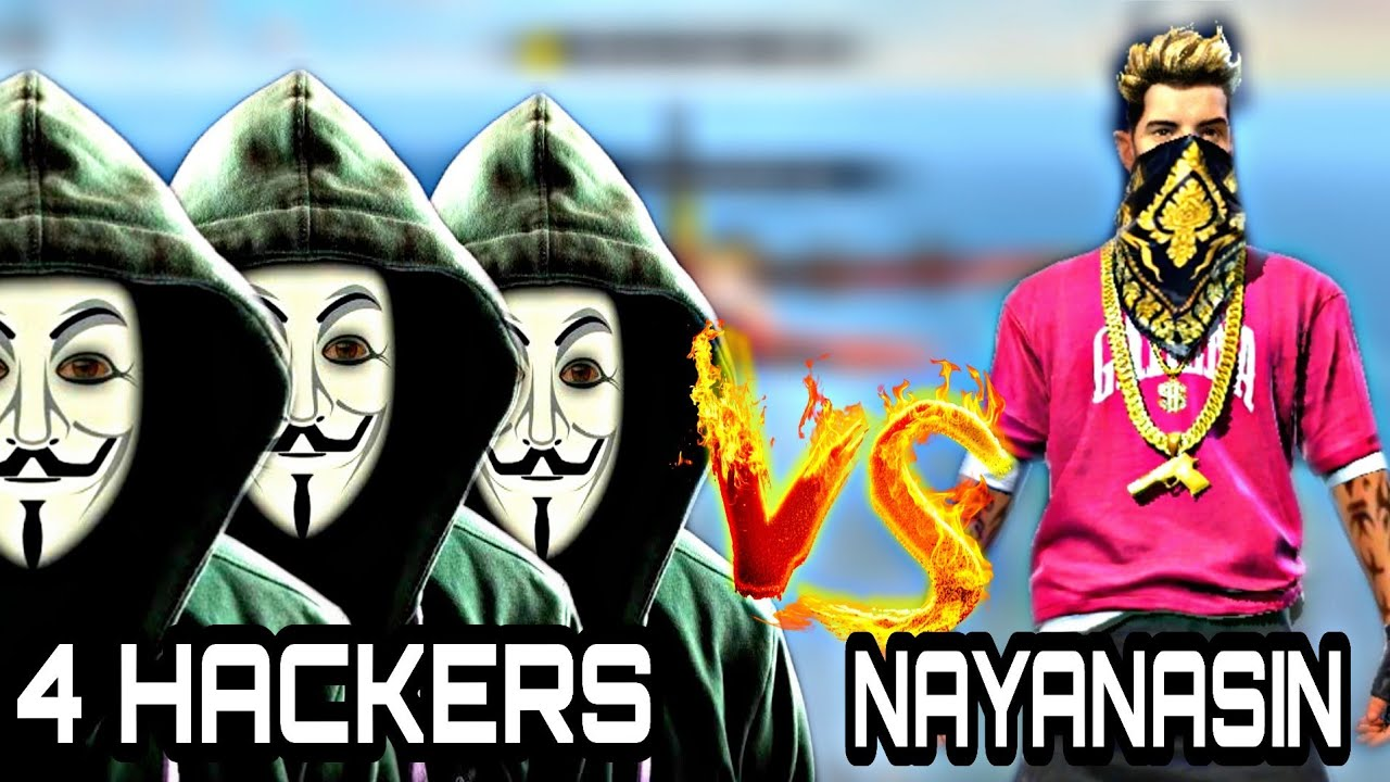 NAYANASIN VS 4 HACKERS NEW SESON RANK MODE || UNBELIEVABLE BOYAAH MUST WATCH