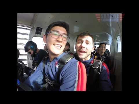 Thomas Lee's Tandem skydive!