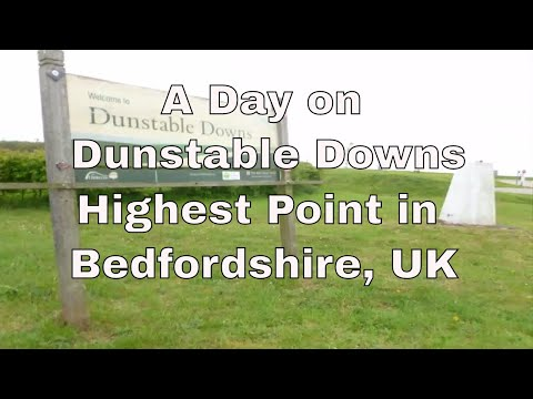 CB Radio UK Activation - Dunstable Downs the highest point in Bedfordshire UK